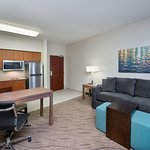 Studio Suite with Queen pullout sofa and super foam mattress