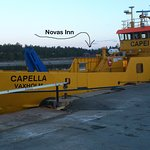 Capella, the free ferry to Holmön
