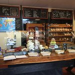 French Oven Bakery counter.