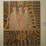 Recente aboriginal kunst in New Norcia