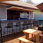 The tiki bar is great in the warmer months with live music!