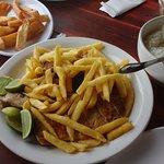 Peixe frito é uma delicia!