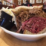 Terrific Brisket/Corned Beef combo (this is only half!)