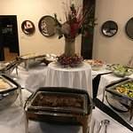 Our buffets are exquisite. We can offer buffets for parties for 30 or more.