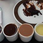 Valor, chocolate shots