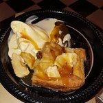 Bread Pudding with Bourbon raisins and Vanilla Ice Cream with Caramel