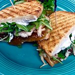 Sandwich Special - Turkey, Fig Jam, Goat Cheese and Argula