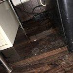 Room 316..walls leaking