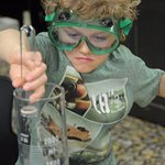 Chemistry is always popular at the Okanagan Science Centre.