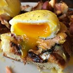 My best eggs benedict photo of all time was taken @ Mudgie's!