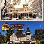 A couple postcards of the house are available inside the Marshall House