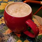 Cinnamon Girl yerba mate tea latte