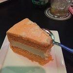 Orange cheese cake (delicious)