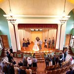 Beautiful historic Theatre on-site as well!  Great venue for weddings, events, concerts or to to