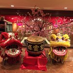 Chinese New Year Decor at the reception