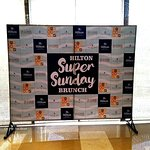 The launch of the Super Sunday Brunch