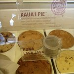 Kaua'i Pie! Heavenly! So was the Kona Lava Java!