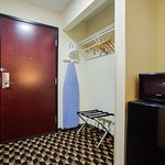 Microwave, Microfridge, Iron, Ironing Board, Coffee Maker Available In ALL Rooms