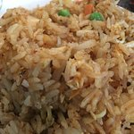 Satay fried rice