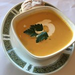 Pumpkin and Coconut Soup ($8.00)