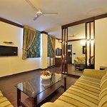 Suite room living area