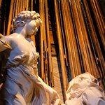 Bernini - The Ecstasy of St Teresa (detail)
