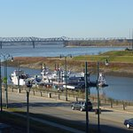 View over Mud Island & Mississippi River