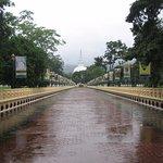 Approach Walkway in the Rain