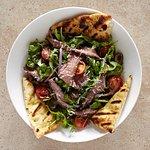 Steak and rocket salad
