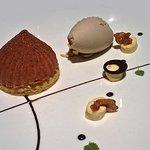 Dessert ardéchois châtaignes et rhum
