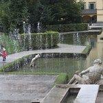 Wasserspiele Hellbrunn Foto