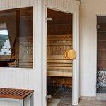 Sauna in der 3. Etage