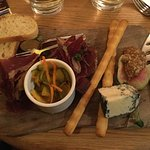 Try the meat and cheese boards on the apres ski menu