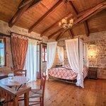 "The master bedroom of ""Melite"" villa"