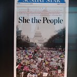 Canadian newspaper from inaugural weekend