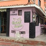 Cafe de Ciudad, corner of Pelicanos and Cormarones
