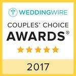 Recipients represent the top five percent of wedding professionals on WeddingWire