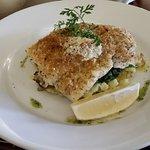 Herb crusted cod