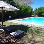 River Bend pool and sun loungers
