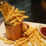 Even French fries taste good