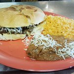 Torta dinner, with the meat of your choice! Yummy!
