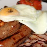 The best brekkie in the area (we like to think!) Local, fresh produce