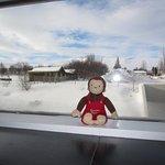 view during day of ski resort!