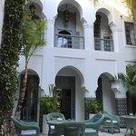 Riad Idra courtyard