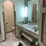 Riad Idra bathroom - double vanity and WC