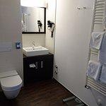 Bagno della camera singola (uso doppia)