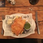 A wonderful fish & chip supper at the wonderful Uncle Tom's Cabin! So glad we're local - and tha