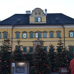 Hellbrunn decorated for Christmas