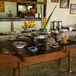 Murex Dive Resort breakfast