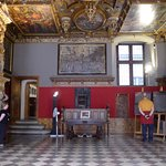 Town Hall, the Red Room, or the Great Council Chamber